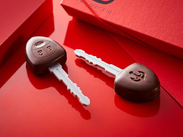 バレンタインに神戸フランツの個性派チョコレート