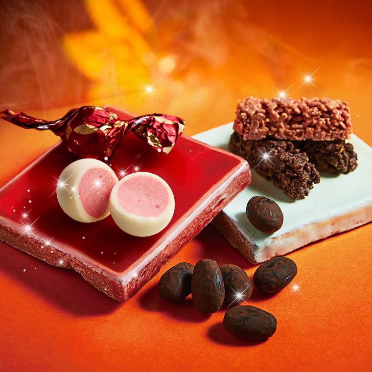 スイーツギフトには神戸フランツ まるごと苺をチョコでコーティング